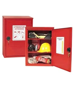 Armadio a muro per attrezzature antincendio Dim 450 x 650 x 250